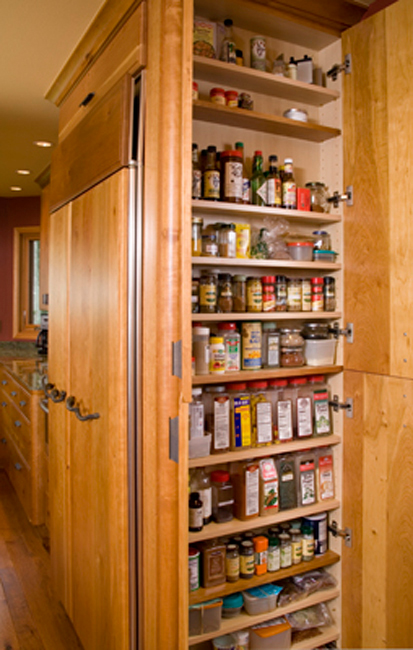 Small Kitchen Storage Spice Rack